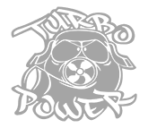 "Наклейка ""Turbo Power"""