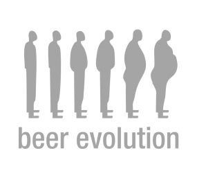 "Наклейка ""Beer evolution"""