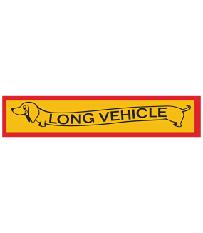 "Наклейка ""Long vehicle"""