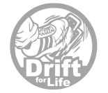 "Наклейка ""Drift for life"""
