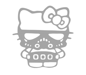 "Наклейка ""Hello Kitty JDM"""